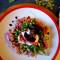 Gnocchi z karmelizowanymi buraczkami i kozim serem